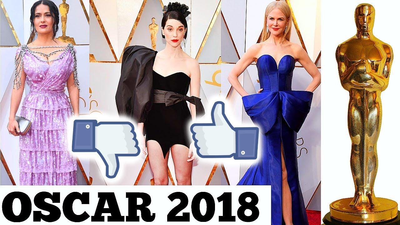 Alfombra Roja Oscar 2018 Los Mejores Y Peores Vestidos