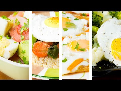4 Healthy Breakfast Ideas For Weight Loss With Eggs | Weight Loss Recipes