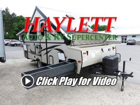 HaylettRV.com - 2017 Rockwood Hardside A213HW Highwall A-Frame Popup Camper by Forest River RV