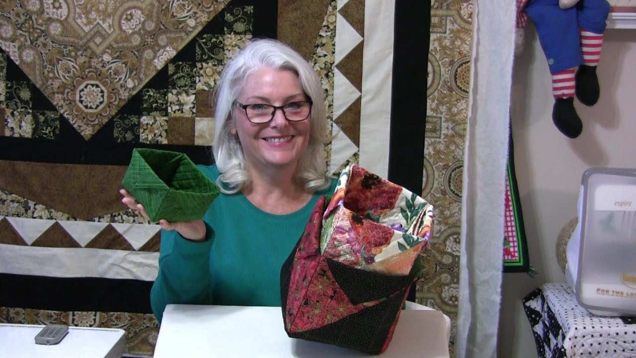 How To Make Fabric Boxes Any Size Youtube