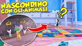 Ratty Catty - NASCONDINO con gli ANIMALI!!