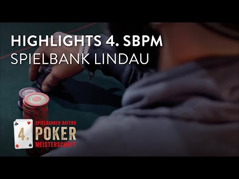 Das war das Finale der 4. Spielbanken Bayern Pokermeisterschaft in Lindau!