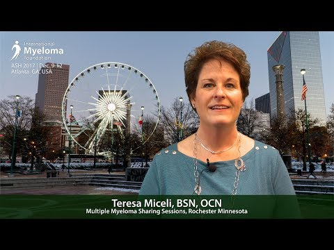 Support Group Leaders' Perspective: Teresa Miceli, BSN, OCN