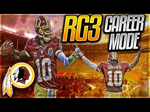 RG3 MADDEN 18 CAREER MODE | ROBERT GRIFFIN III CAREER REVIVAL