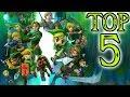 Top 5 Legend Of Zelda Games! (2018)