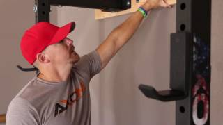 Compact Folding Squat Rack by AXOM