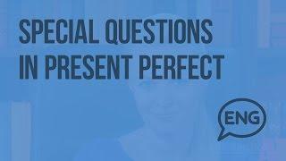 Специальные вопросы в настоящем совершенном времени. Special Questions in Present Perfect