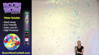 Water Soluble Eco Confetti - BoomWow Confetti Cannons