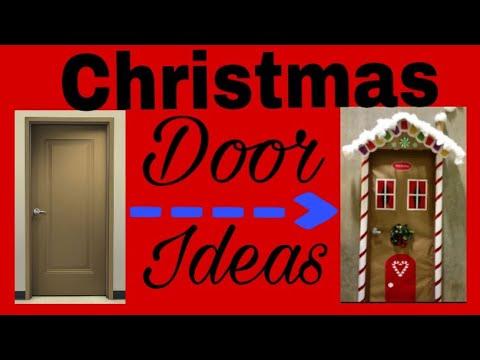 Great Christmas Door Decorating Ideas - YouTube