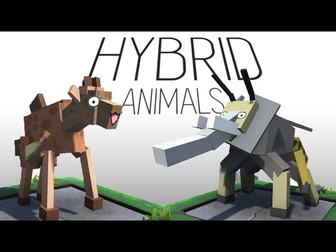 Hybrid Animals Gameplay - Salmon Giraffe and Elephant Wasp! - Let's Play Hybrid Animals