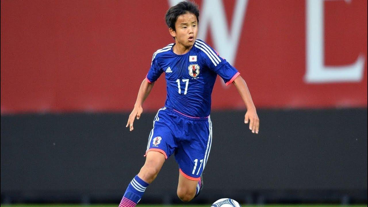 ميسي اليابان - تاكيفوسا كوبو (18 عام) - مرحبا بك في ريال مدريد - أهداف ومهارات رائعة - YouTube