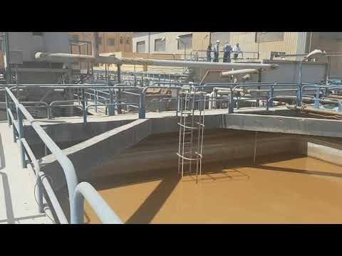Industrial wastewater treatment in Egypt