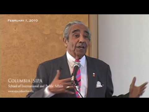 Economic Recovery in the Cities: Charles B. Rangel, Keynote
