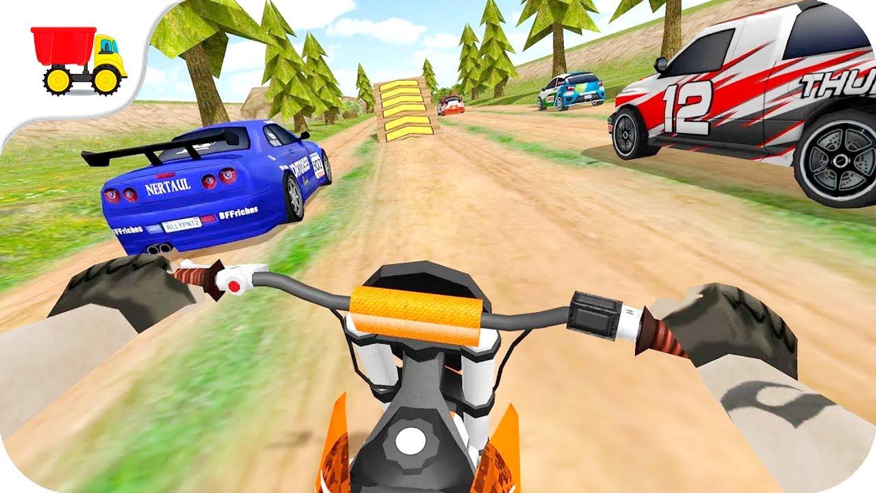 Bike Racing Games Dirt Bike Rally Racing Turbo Gameplay
