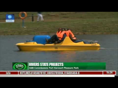 News Across Nigeria: Rivers Govt. Commissions Pleasure Park In Port Harcourt