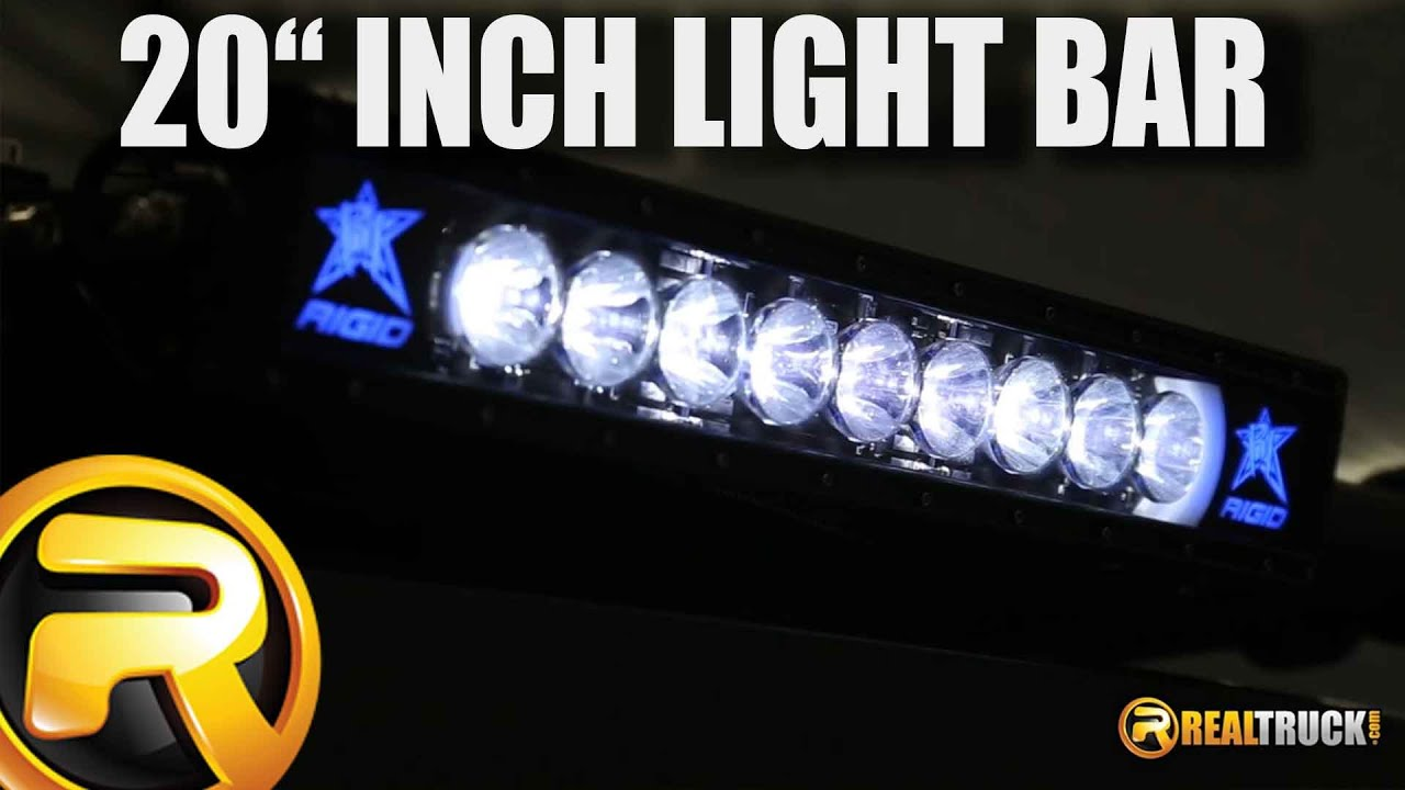 Rigid industries radiance 20 inch led light bar fast facts youtube aloadofball Choice Image