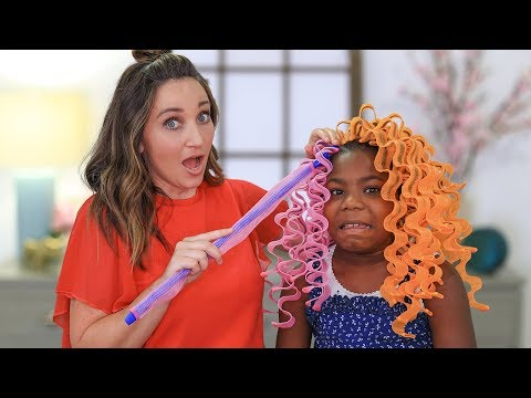 NO-HEAT Waves… Will They Work? | Fab or Fail Hairstyles thumbnail