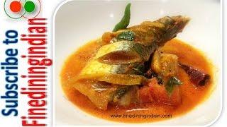Fish Curry Kerala Recipe #finediningindian