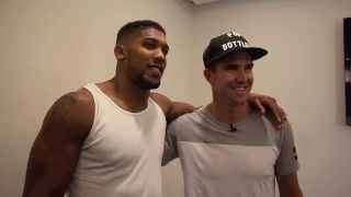 WHEN ANTHONY MET KEVIN - ANTHONY JOSHUA MBE EDUCATING CRICKETER KEVIN PIETERSEN MBE ON BOXING