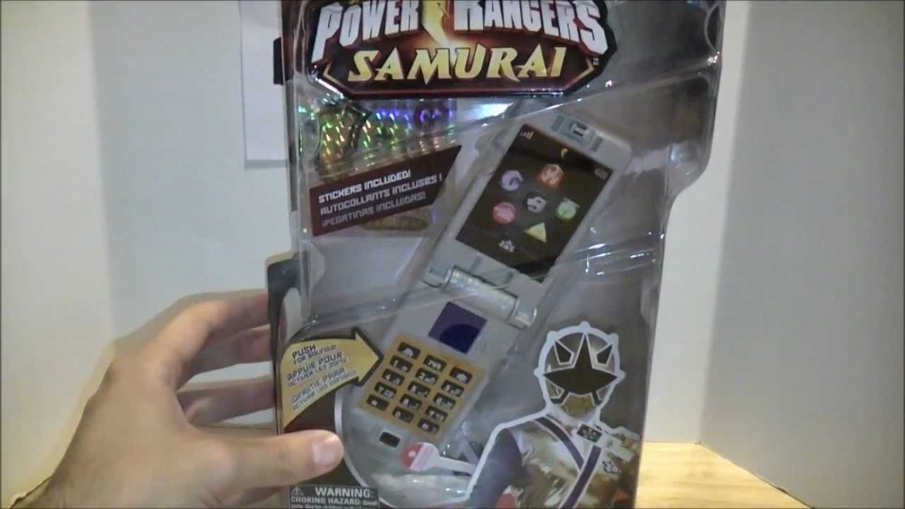 Samurai Morpher Review (Power Rangers Samurai) - YouTube