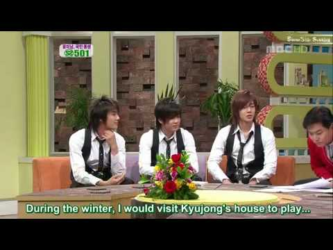[ENG SUBBED] 070202 SS501 Good Day Special Part 1 of 7