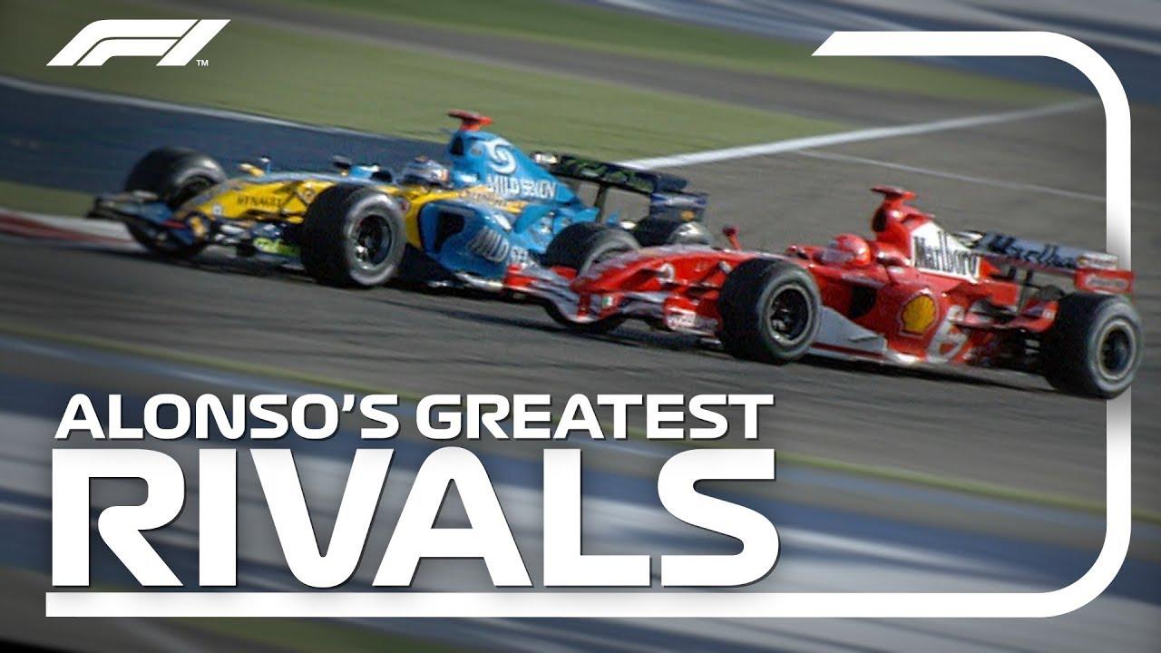 Fernando Alonso's Greatest Rivals