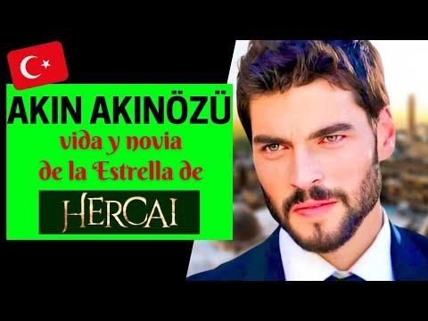 AKIN AKINÖZÜ Vida Y NOVIA De La Estrella De HERCAI ❤️ | Actor Turco 🇹🇷