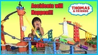 Райан грає Томас і друзі поїзда іграшки для дітей