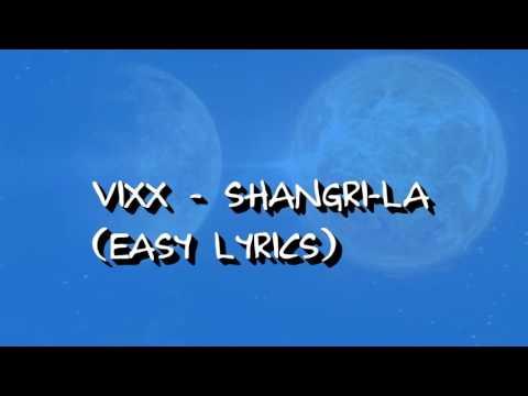 VIXX - SHANGRI-LA (EASY LYRICS)
