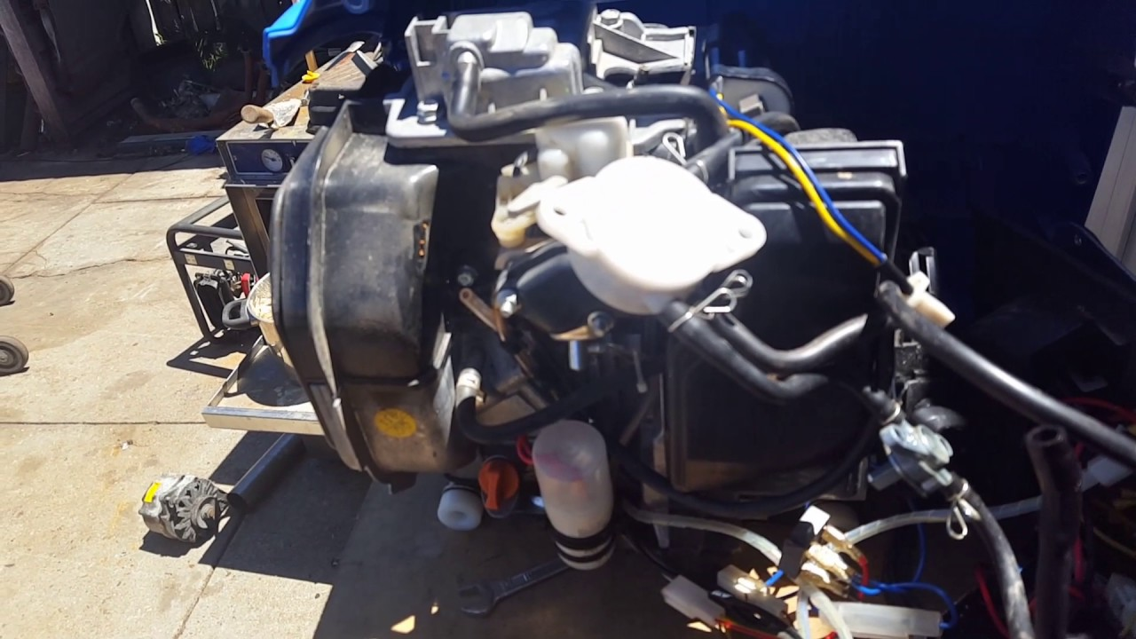 Kipor 2000e inverter generator fix up pt1 diagnosis