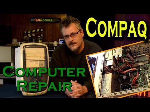 Compaq Desktop Computer Repair – No Activity on Startup