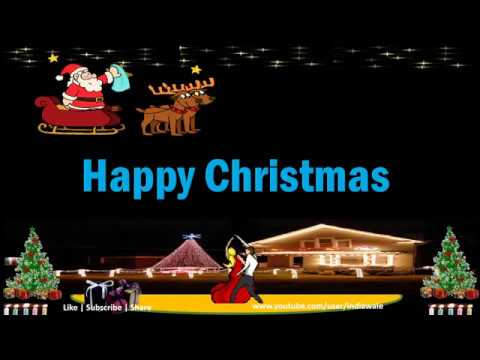 merry christmas wishes greetings whatsapp video song carol dance decoration - Christmas Wishes Video