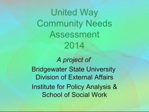 United Way Community Needs Assessment 2014