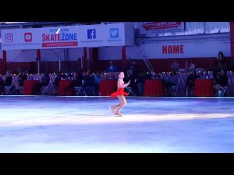 2016 Palm Beach Skate Zone Christmas Show featuring Miss.Anabelle Larson
