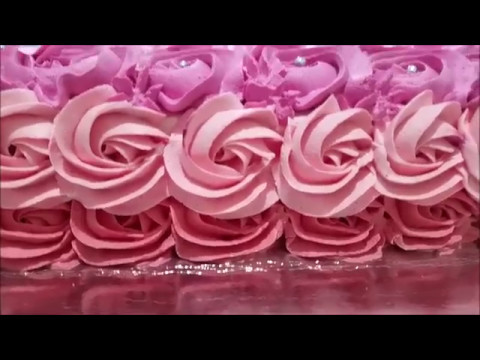 Bolo Rosas De Chantily Youtube