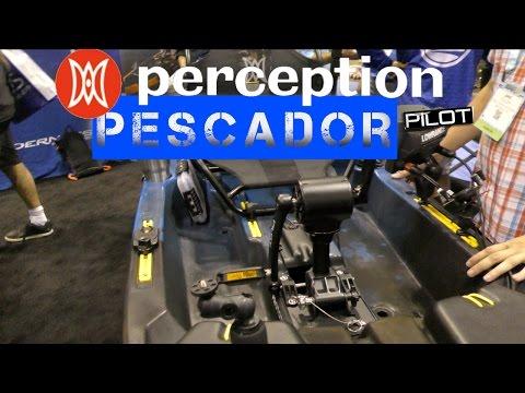 NEW Perception Pescador Pilot 120 Pedal Drive Kayak