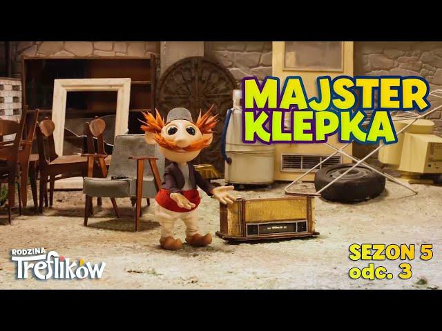 Bajki dla dzieci - RODZINA TREFLIKÓW - Sezon 5 - odc. 3 -