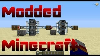 Modded Minecraft Tutorial 01 - Auto Ore Processing with Thermal Expansion