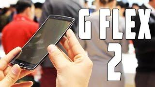 LG G Flex 2, Primeras Impresiones MWC 2015