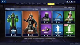 *NEW*Shadow Boxer Emote & ShoGun Skin (Back)! Fortnite Item Shop March 9, 2019