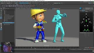 Journey to VR: Animation retargeting using Maya (Part One)
