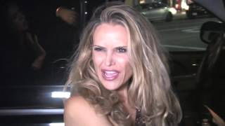 Brooke Mueller leaves her 38th Birthday Party at Nice Guy Nightclub in Hollywood