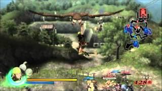 Sengoku BASARA 3 Utage Toshiie & Matsu Maeda gameplay