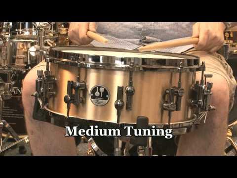 Sonor 6x14 Artist Cast Bronze Signature Snare Drum