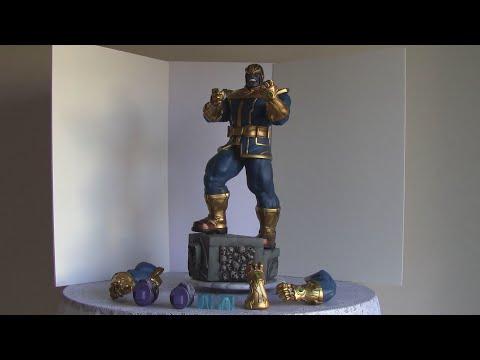 XM Studios Thanos statue Marvel Comics Avengers