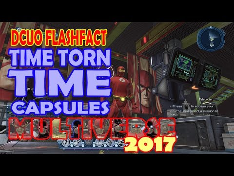 DCUO; Time Torn Time Capsule