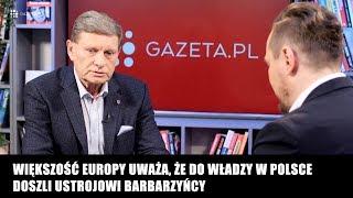 Prof. Balcerowicz: Cała polityka personalna PiS jest usiana gigantycznymi skandalami