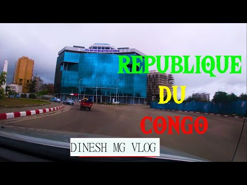 POINTE NOIRE  TOUR |REPUBLIQUE DU CONGO 🇨🇬 DINESH MG VLOG| IN-4K