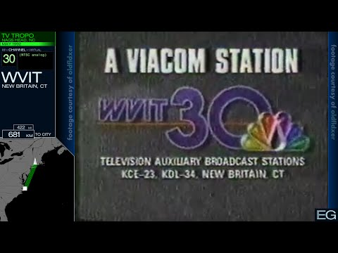 TV DX From The NC Outer Banks (Tropo 1990, 1992)
