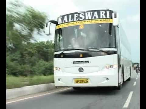 MERCEDES BENZ BUS REVIEW IN TELUGU